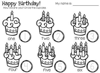 You're Invited Birthday Printables Pack for Pre-K, Kindergarten and ESL/EFL