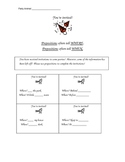 You're Invited - Prepositions Worksheet