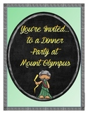 You're Invited...to a Dinner Party at Mount Olympus