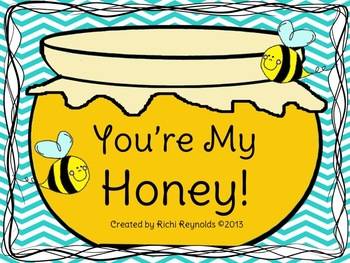 You're My Honey: A Mother's Day Writing and Craft Activity