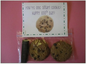 """You're One Smart Cookie!"" 100th Day Treats"