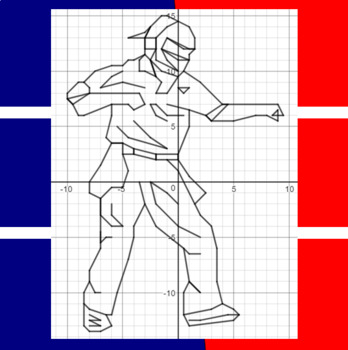 You're Out - A Baseball Coordinate Graphing Activity