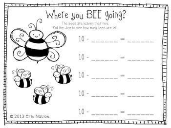 You're a Bug-a-Boo {Math, ELA, & science insect themed activities}