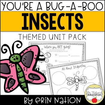 You're a Bug-a-Boo {Math, ELA, & science insect themed act