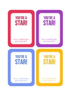 You're a Star Gift Tag