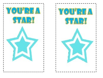 You're a Star bookmark