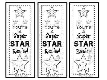You're a Super Star Reader Bookmark