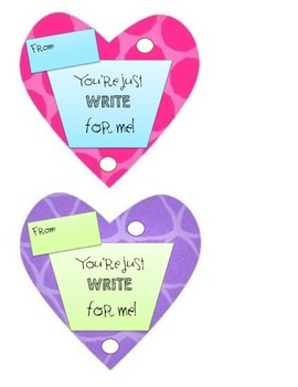 'You're just WRITE for me!' Valentine's Day Card Variety Pack