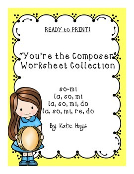 """You're the Composer"" Worksheet Collection"