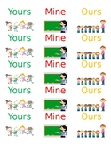 Yours Mine Ours Labels