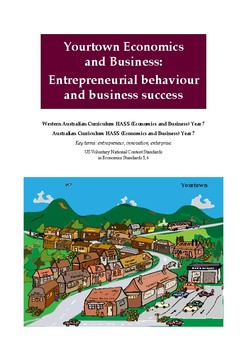 Yourtown Economics and Business - Entrepreneurs and business success (Year 7)