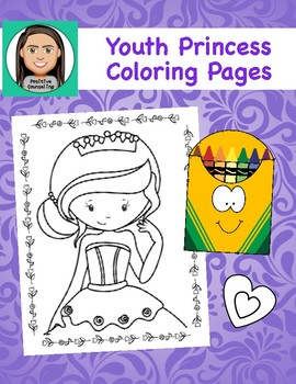 Coloring Pages for Youth: Princess