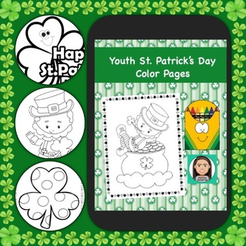 Youth Coloring Pages: St. Patrick's Day