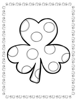 Coloring Pages for Youth: St. Patrick's Day