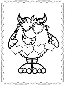 Coloring Pages for Youth: Valentine's Day