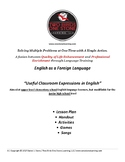 Youth ESL-  Lesson Plan, Student Handout, and Activities (Useful Expressions)