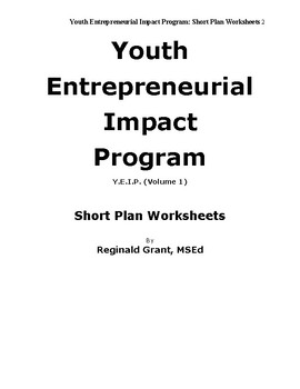 Youth Entrepreneurial Impact Program: Guide™
