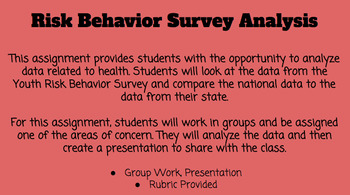 Youth Risk Behavior Survey Analysis