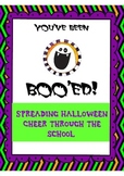 Halloween- Boooing Fun and Letter Writing