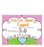 You've Been Egged- Math and Literacy Activities