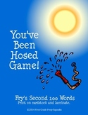 You've Been Hosed! High-Frequency Word Game