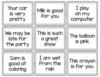 Punctuation Game