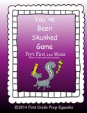 You've Been Skunked! High-Frequency Word Game