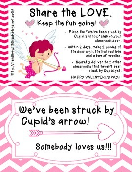 You've Been Struck By Cupid's Arrow
