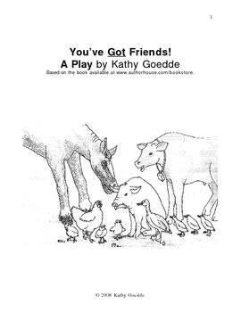 You've Got Friends-Play Script