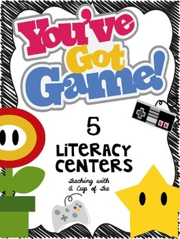 You've Got Game! 5 Super Literacy Centers {Intermediate Edition}
