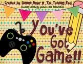 You've Got Game {testing strategies unit}