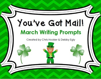 You've Got Mail!: March Writing Prompts