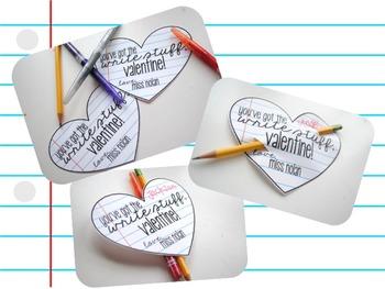 You've Got the WRITE Stuff, Valentine! FREEBIE!