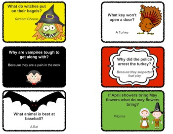 You've Gotta Be Joking - Kid-Friendly Joke Cards