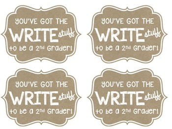"You've got the ""Write"" Stuff Label- Back to School"