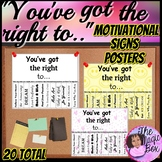 Motivational Signs/Posters
