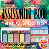 Yr 0-2 Google Sheets Assessment Book (New Zealand Version)