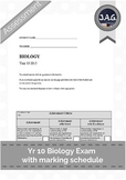 Yr 10 Biology Exam Pack