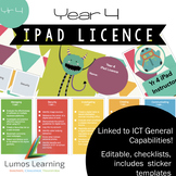 Yr 4 iPad licence