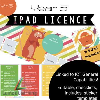 Yr 5 iPad Licence