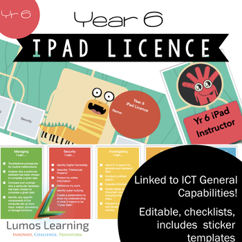 Yr 6 iPad Licence