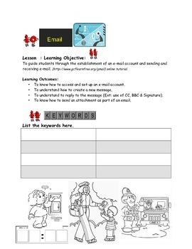 Grade 7 Year 7 ICT Computer Basics Email B ICT Workbook