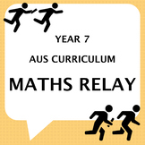 Yr7 end of year maths relay