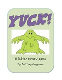 Yuck! Letter Review