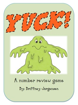 Yuck! Numbers, Number Words, & Math Facts Bundle