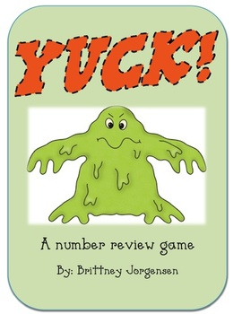 Yuck! Numbers and Number Words Review Bundle