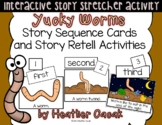 Yucky Worms Story Sequence Cards (Math and Literacy)