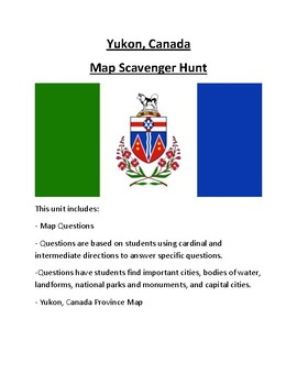 Yukon Map Scavenger Hunt