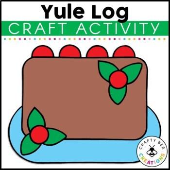 Yule Log Cut and Paste