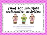 Yum!  Hot Chocolate!  Subtraction Activities